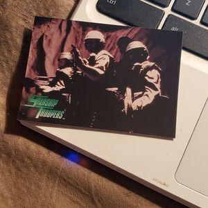 Volunteers starship troopers card
